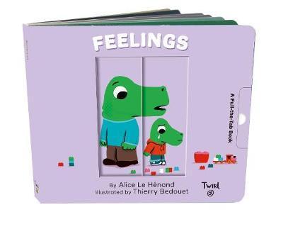 Feelings: Pull-the-tab Book