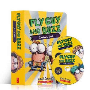 FLY GUY AND BUZZ DELUXE SET/盒裝書+CD